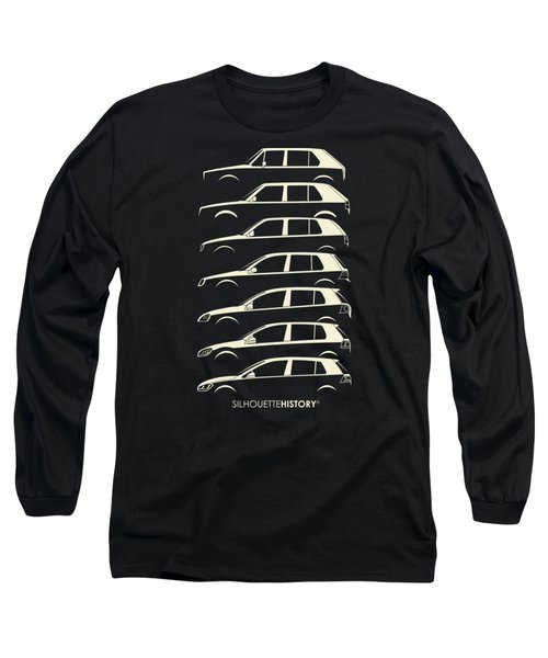 Wolfsburger Hatch Five Silhouettehistory Long Sleeve T-Shirt by Gabor Vida