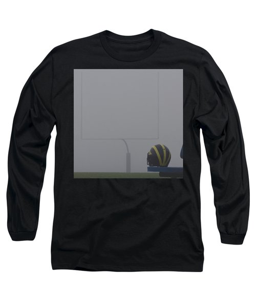 Wolverine Helmet In Heavy Morning Fog Long Sleeve T-Shirt