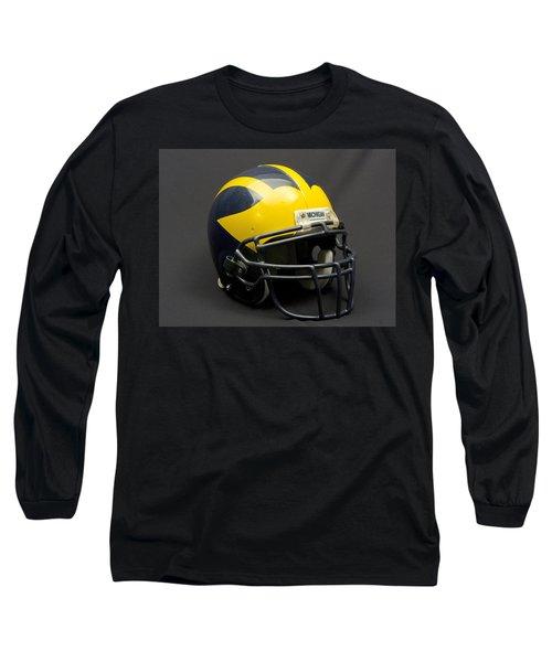 Wolverine Helmet Of The 2000s Era Long Sleeve T-Shirt