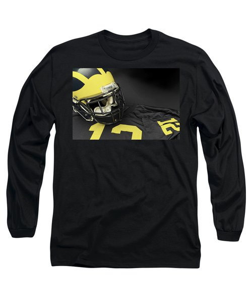 Wolverine Helmet With Jersey Long Sleeve T-Shirt