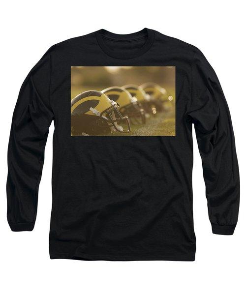 Wolverine Helmets Sparkling In Dawn Sunlight Long Sleeve T-Shirt