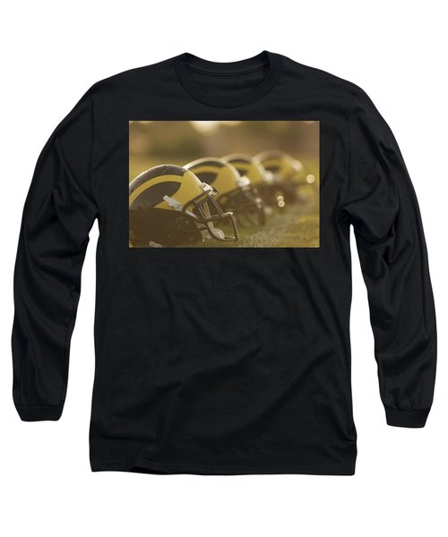 Wolverine Helmets Sparkling In Dawn Sunlight Long Sleeve T-Shirt
