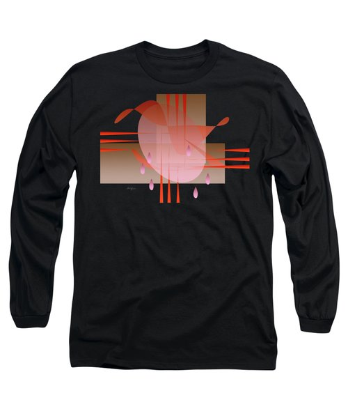 Woman And Pain Long Sleeve T-Shirt