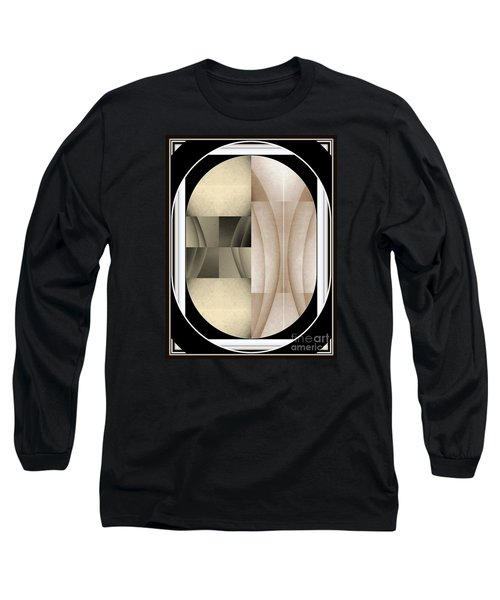Woman Image Three Long Sleeve T-Shirt by Jack Dillhunt
