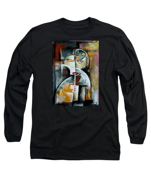 Woman Long Sleeve T-Shirt by Kim Gauge