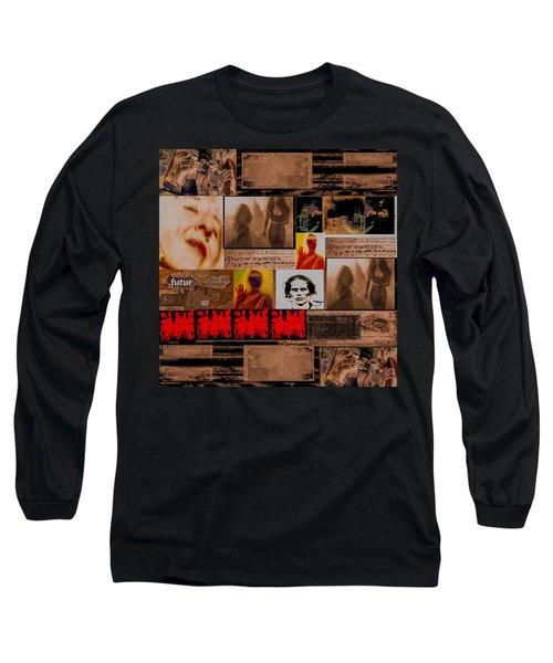 Woman Power Story Long Sleeve T-Shirt by Danica Radman