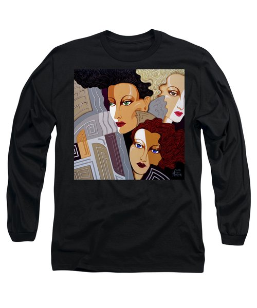 Woman Times Three Long Sleeve T-Shirt