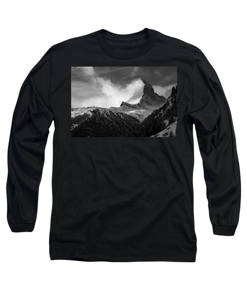 Wonder Of The Alps Long Sleeve T-Shirt