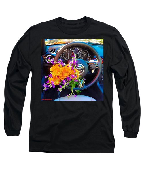 Wonderful #topdown Weather In Long Sleeve T-Shirt