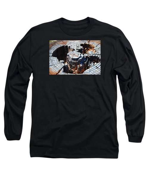 Long Sleeve T-Shirt featuring the photograph Wood World by Steed Edwards