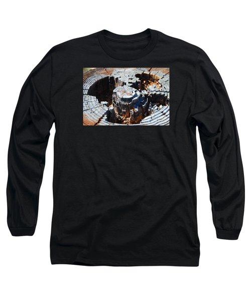 Wood World Long Sleeve T-Shirt