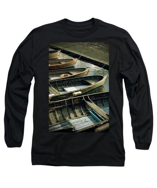 Wooden Boats Long Sleeve T-Shirt
