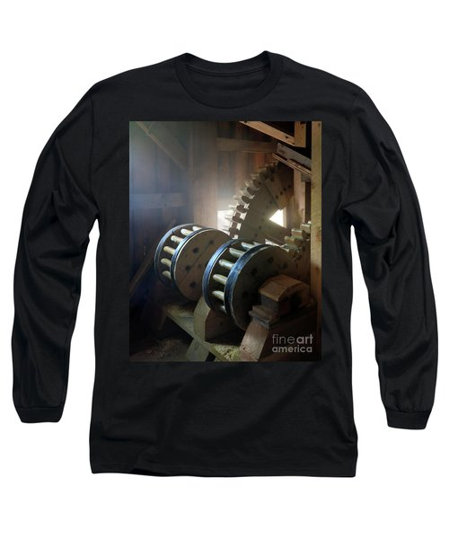 Wooden Gear Train Long Sleeve T-Shirt