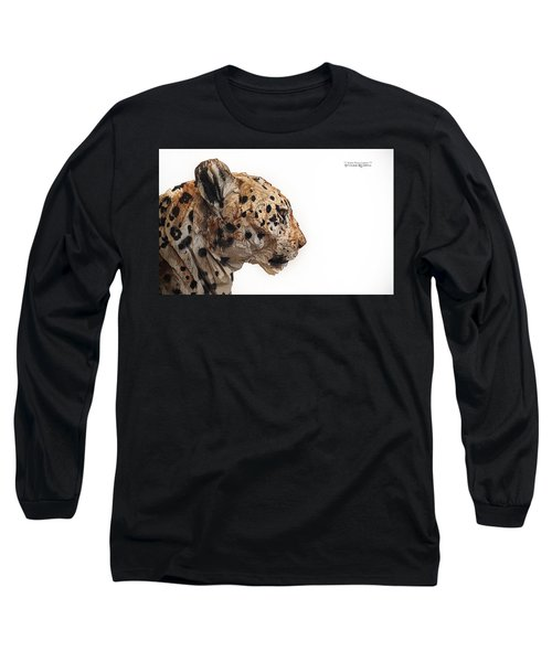 Long Sleeve T-Shirt featuring the photograph Wooden Panther by Stwayne Keubrick