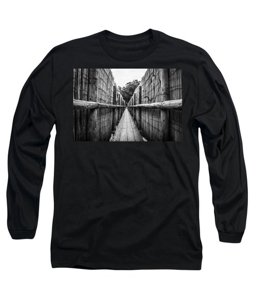 Wooden Walkway. Long Sleeve T-Shirt