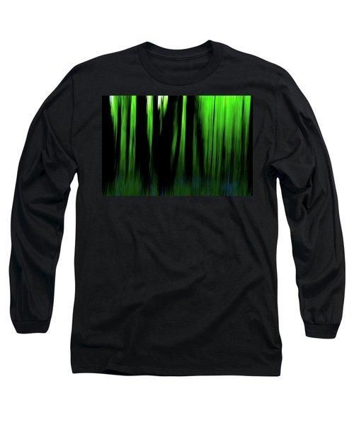 Woodland Abstract Iv Long Sleeve T-Shirt
