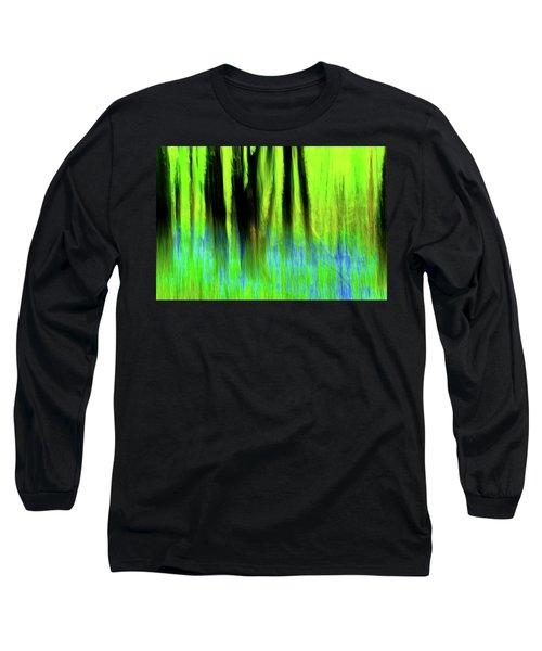 Woodland Abstract Vi Long Sleeve T-Shirt