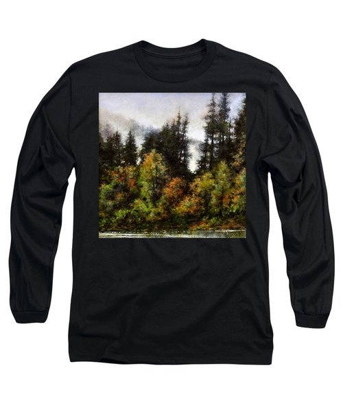 Woodland Bottoms In April Long Sleeve T-Shirt
