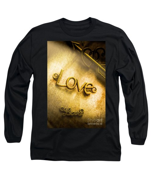 Words And Letters Of Love Long Sleeve T-Shirt