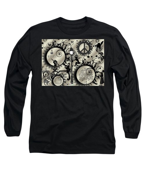 Words Pale Long Sleeve T-Shirt