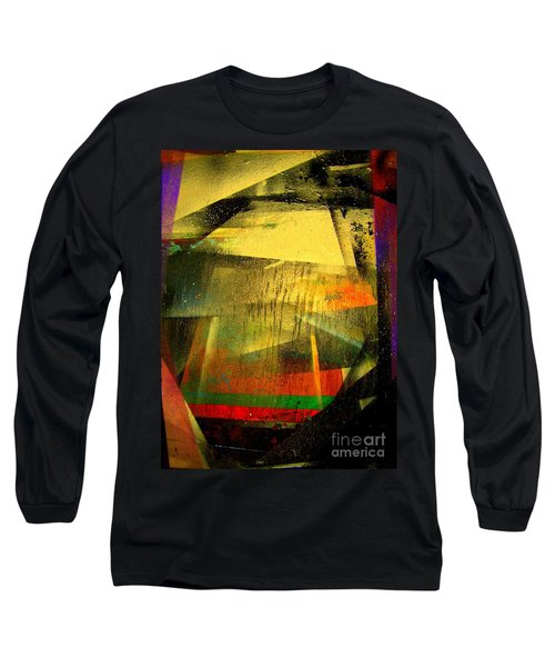 Long Sleeve T-Shirt featuring the painting Work Bench by Greg Moores