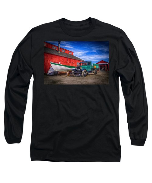 Work Truck, Mystic Seaport Museum Long Sleeve T-Shirt