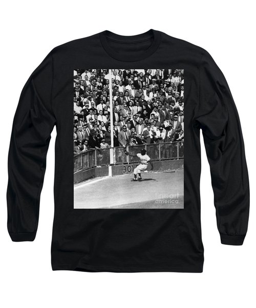 World Series, 1955 Long Sleeve T-Shirt by Granger