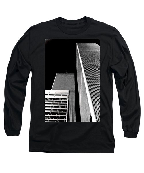 World Trade Center Pillars Long Sleeve T-Shirt