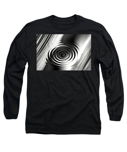Wormhold Abstract Long Sleeve T-Shirt