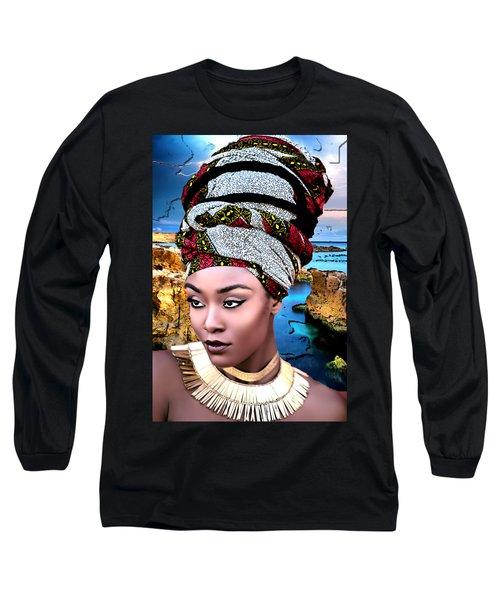 Worthy Is She Long Sleeve T-Shirt