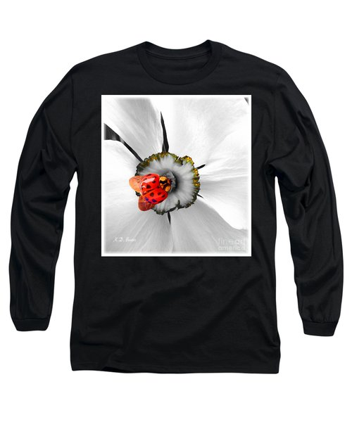 Wow Ladybug Is Hot Today Long Sleeve T-Shirt by Kimberlee Baxter
