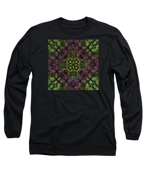 Long Sleeve T-Shirt featuring the digital art Wreath by Lyle Hatch