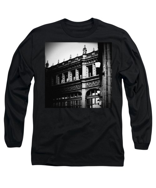 Wrigley Building Square Long Sleeve T-Shirt