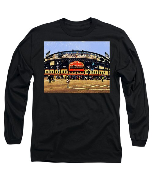 Wrigley Field Long Sleeve T-Shirt