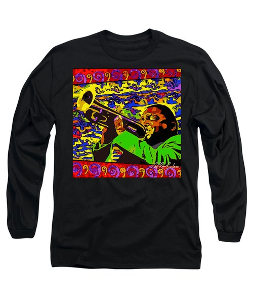 Wynton Marsalis Plays Louis Armstrong Rework Long Sleeve T-Shirt