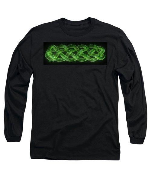 Wyrm - The Celtic Serpent Long Sleeve T-Shirt