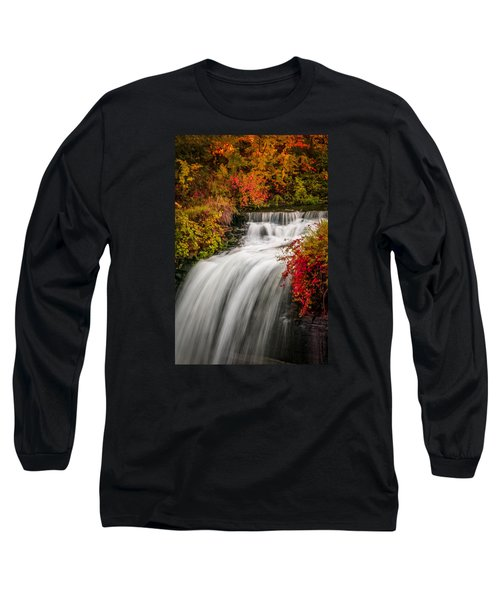 Fall At Minnehaha Falls Long Sleeve T-Shirt