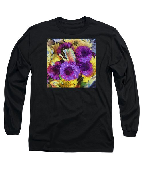 Xtreme Floral Twelve Cozy And Snug Long Sleeve T-Shirt