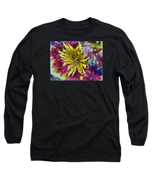Xtreme Floral Thirteen Reaching Out Long Sleeve T-Shirt