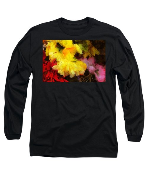 Xtreme Floral 18 Yellow Unfolding Long Sleeve T-Shirt