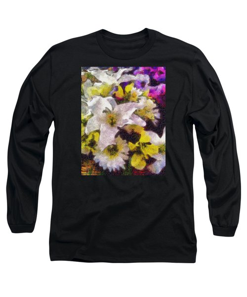 Xtreme Floral Six The White Star Long Sleeve T-Shirt by Spyder Webb
