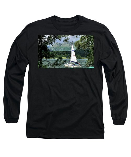Yachting Lake Windermere Long Sleeve T-Shirt