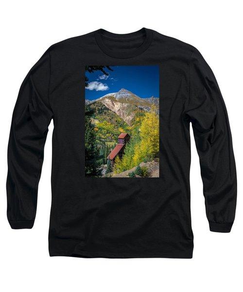 Yankee Girl Mine Long Sleeve T-Shirt by Michael J Bauer