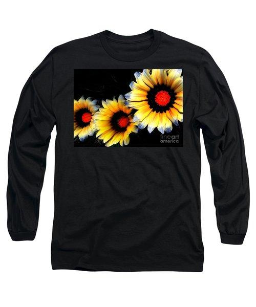 Yard Flowers Long Sleeve T-Shirt
