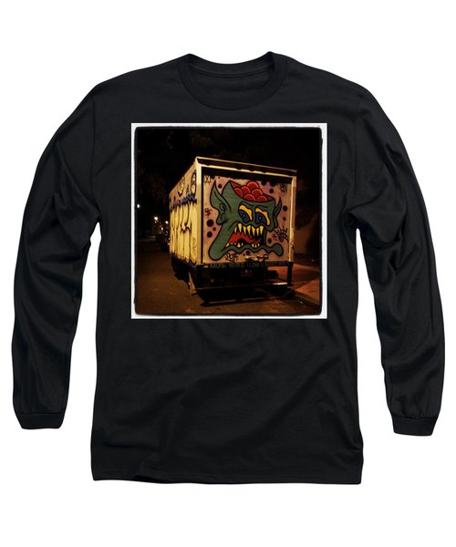 Long Sleeve T-Shirt featuring the photograph Yea, Another Night Out On The Town by Mr Photojimsf