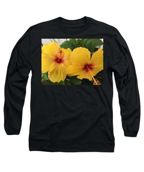 Yellow Beauties Long Sleeve T-Shirt