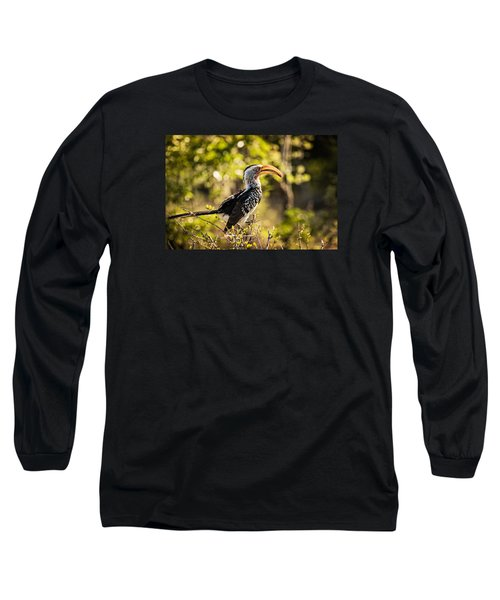 Yellow-billed Hornbill Long Sleeve T-Shirt