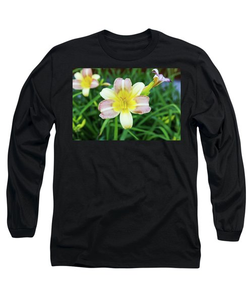 Yellow Daylily Long Sleeve T-Shirt