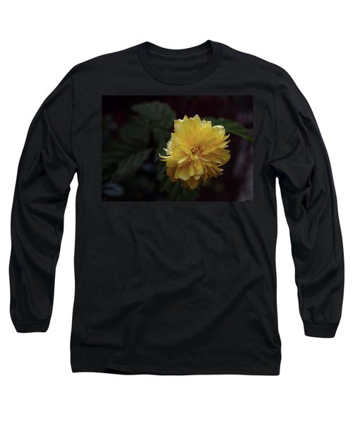 Long Sleeve T-Shirt featuring the photograph Yellow by Keith Elliott
