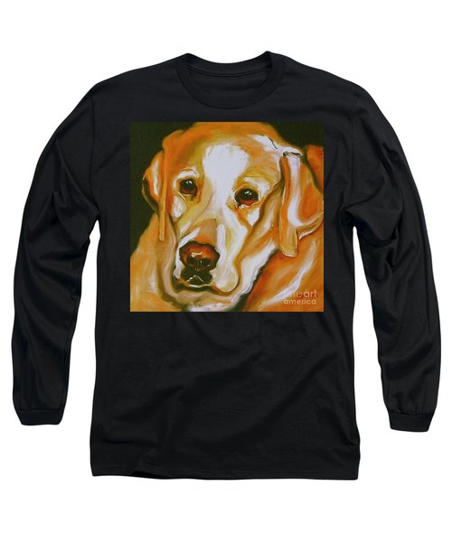 Yellow Lab Amazing Grace Long Sleeve T-Shirt
